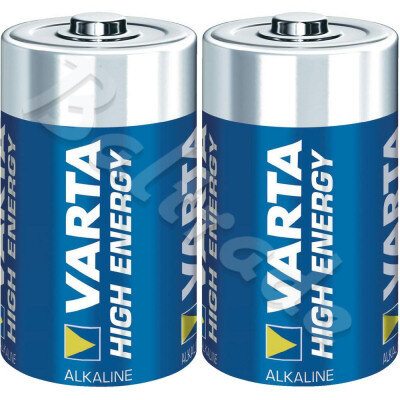 2 x Varta High Energy LR20/D 4920 (blister)
