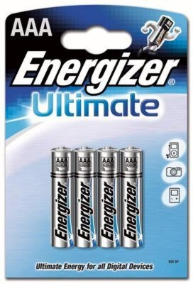 bateria alkaliczna Energizer Ultimate LR03 AAA (blister)