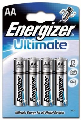 bateria alkaliczna Energizer Ultimate LR6 AA (blister)