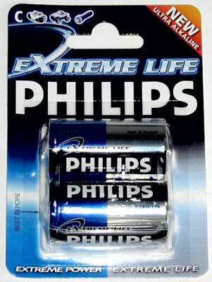 bateria alkaliczna Philips ExtremeLife LR14 C (blister)