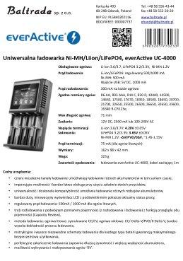 everActive UC-4000 karta katalogowa