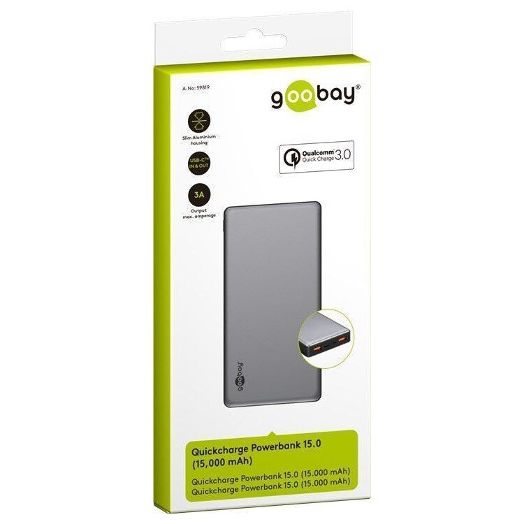 Power Bank QuickCharge 3.0 Goobay 20.0 59854 20000 mAh