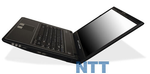 NOTEBOOK NTT CORRINO L 617SU T6600 2 x 2.2 GHz 15,4""