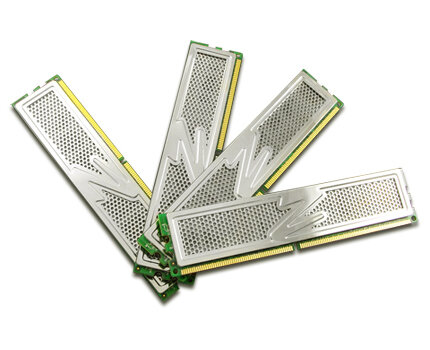 OCZ 4GB DDR II 800 Platinum Quad Kit CL4 (4 x 1 GB)