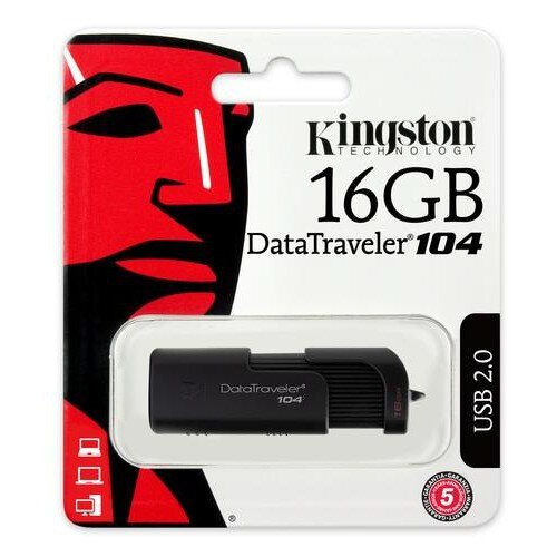 Pendrive USB 2.0 Kingston DT104 16GB