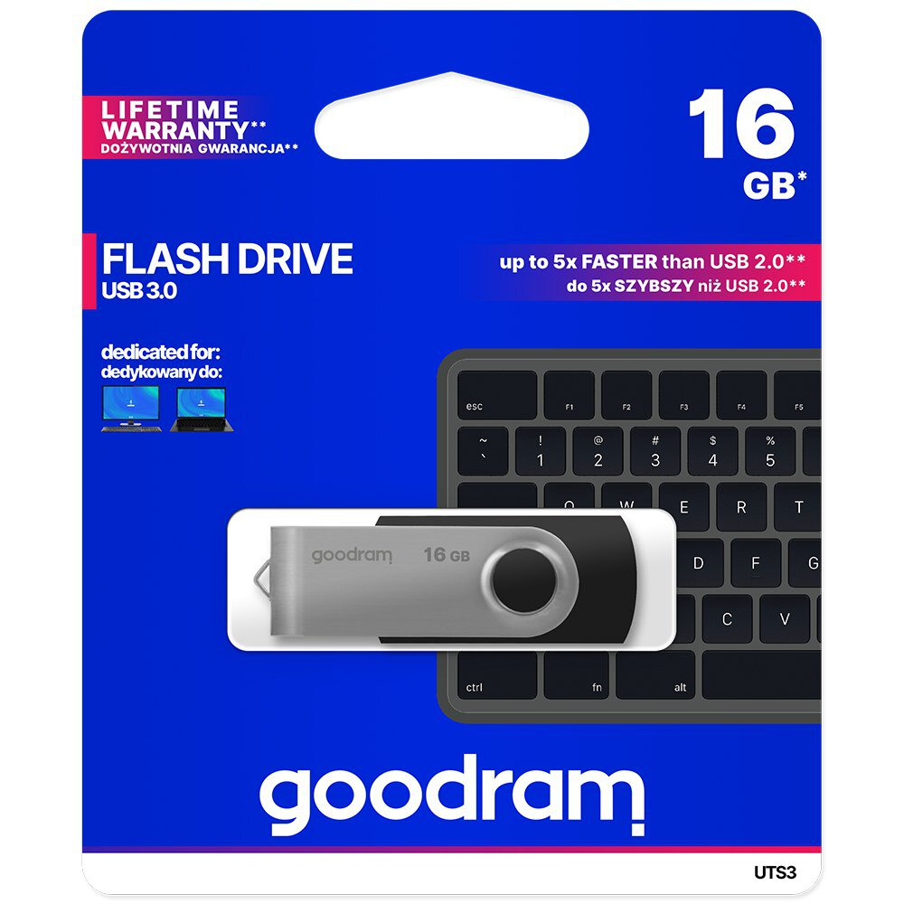 Pendrive USB 3.0 GoodRam UTS3 16GB