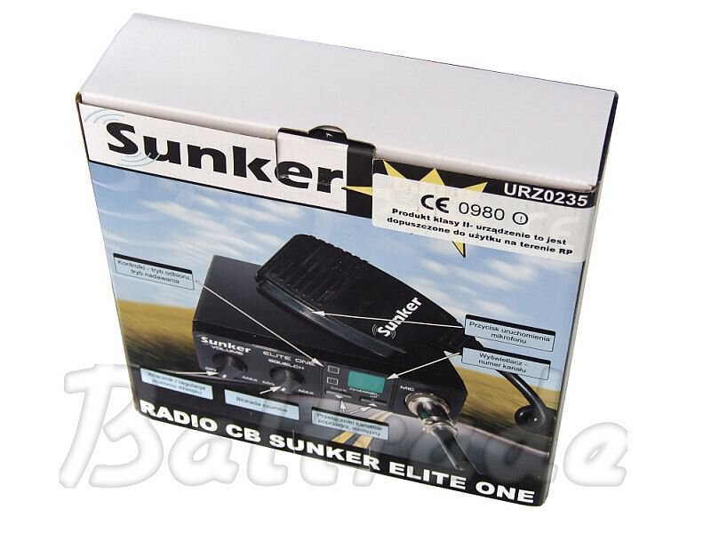 Radio CB Sunker Elite One