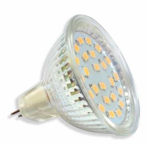 Zarowka Mr16 Led: Żarówka 21 LED SMD2835 5W MR16 230V