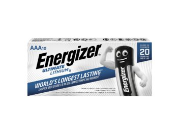 10 x bateria foto litowa Energizer L92 Ultimate Lithium R03 AAA