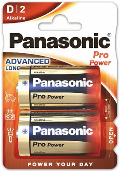 24 x Panasonic Alkaline PRO Power LR20/D (blister)