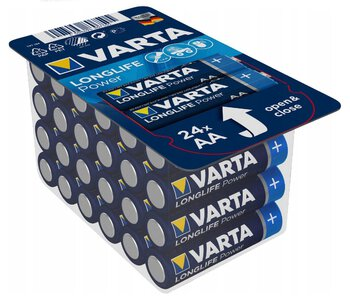 24 x Varta Longlife Power LR6/AA 4906 (High Energy)