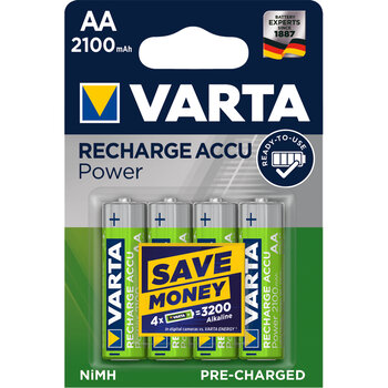 4 x akumulatorki Varta Ready2use R6 AA Ni-MH 2100 mAh