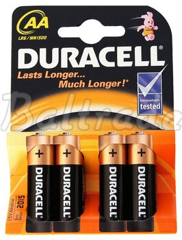4 x bateria alkaliczna Duracell LR6 AA (blister)