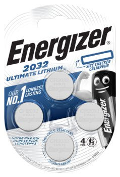 4 x bateria litowa mini Energizer Ultimate Lithium CR2032