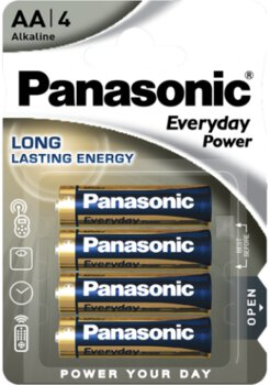 4 x Panasonic Everyday Power LR6/AA (blister)