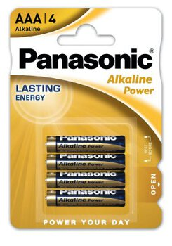 48 x Panasonic Alkaline Power LR03/AAA (blister)