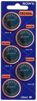 5 x bateria litowa mini Sony CR2450