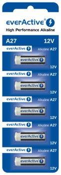 5 x baterie alkaliczne everActive 27A 12V