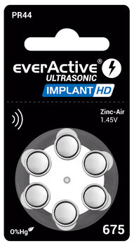 Baterie do implantów everActive ultrasonic implant hd typ 675