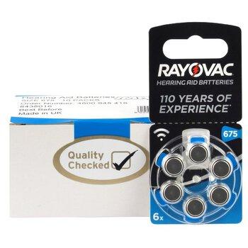 120 x baterie do aparatów słuchowych Rayovac Extra Advanced