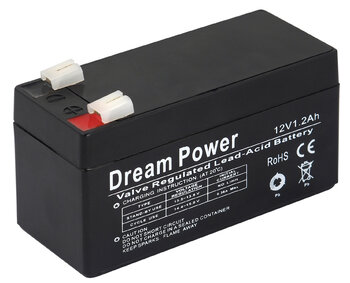 akumulator żelowy AGM Dream Power 12V 1,2Ah
