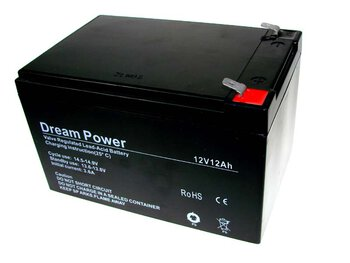 akumulator żelowy AGM Dream Power 12V 12Ah