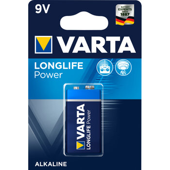 bateria alkaliczna Varta Longlife Power 6LR61/9V 4922 (High Energy)
