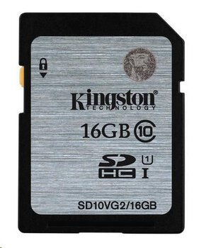 Karta pamięci Kingston SDHC 16GB class 10 UHS-I - 45MB/s