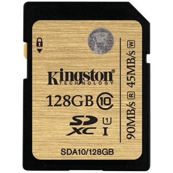 Karta pamięci Kingston SDXC 128GB class 10 UHS-I - 45/90MB/s