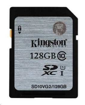 Karta pamięci Kingston SDXC 128GB class 10 UHS-I - 45MB/s