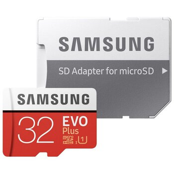 Karta pamięci microSDHC Samsung EVO PLUS 32GB UHS-I U1 class 10 20/95MB/s + adapter do SD