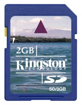 karta pamięci Secure Digital Kingston 2GB