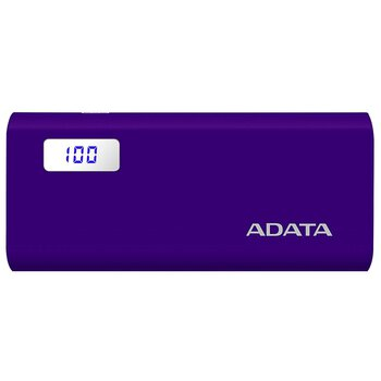 Mobilna bateria Power Bank ADATA P12500D 12500mAh fioletowy