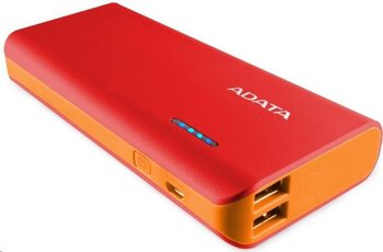 Mobilna bateria Power Bank ADATA PT100 10000mAh red