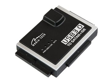 "Mostek / Adapter USB 3.0 na SATA/IDE 2,5"" 3,5"" Media-Tech MT5100"