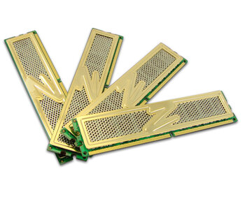 OCZ 4GB DDR II 800 Gold Quad Kit CL5 (4 x 1 GB)