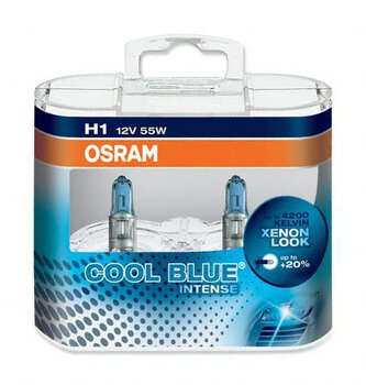 Osram H1 Cool Blue Intense (duo pack)