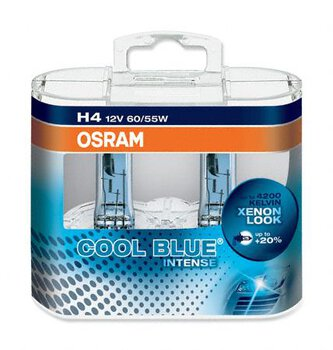 Osram H4 Cool Blue Intense (duo pack)