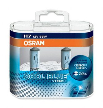 Osram H7 Cool Blue Intense (duo pack)