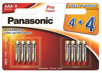 96 x Panasonic Pro Power LR03/AAA (blister)