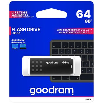 Pendrive USB 3.0 GoodRam UME3 64GB