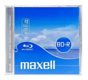 Płyta Blu-Ray BD-R 25GB 4x MAXELL Jewel Case