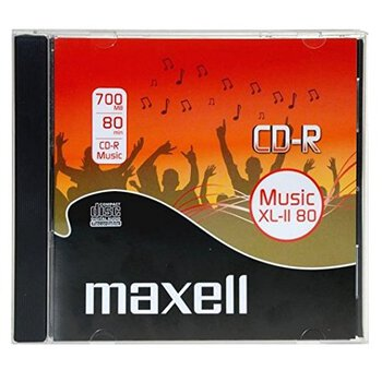 Płyta CD-R AUDIO 80min Maxell Music
