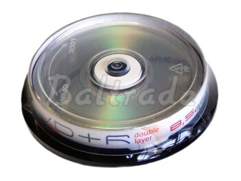 Płyty DVD+R DL 8,5GB 8X OMEGA FREESTYLE CAKE10