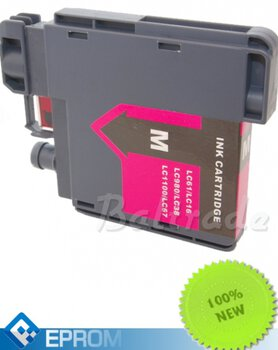 Tusz 24ink/Eprom do drukarki Brother 980 / 1100 LC Magenta 12ml - LC980M / LC1100M