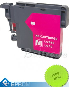 Tusz 24ink/Eprom do drukarki Brother 985 LC Magenta 12ml - LC985M