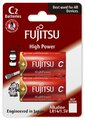 2 x bateria alkaliczna Fujitsu High Power LR14 C blister