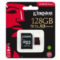 Karta pamięci Kingston Canvas React microSD (microSDXC) 128GB 100MB/s UHS-I U3 V30 A1 + adapter
