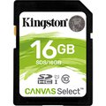 Karta pamięci Kingston Canvas Select SDHC 16GB class 10 UHS-I U1 - 80MB/s