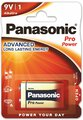 Panasonic Alkaline PRO Power 6LR61/9V (blister)
